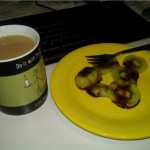 wiki with algarrobina from peru: breakfast of polyphasic sleeping champions