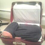 packing the sleeping mat
