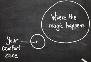 where the magic happens vs comfort zone